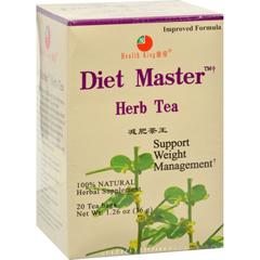HGR0417774 - Health King Medicinal TeasDiet Master Herb Tea - 20 Tea Bags