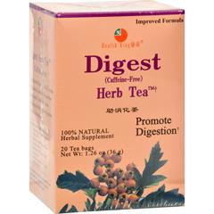 HGR0417790 - Health King Medicinal TeasDigest Herb Caffeine Free - 20 Tea Bags