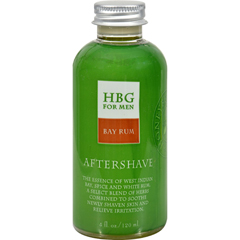 HGR0418319 - Honeybee GardensHerbal Aftershave Bay Rum - 4 oz