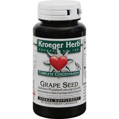 HGR0420117 - Kroeger HerbGrape Seed - 90 Vegetarian Capsules