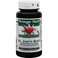 HGR0420414 - Kroeger HerbSt Johns Wort - 90 Vegetarian Capsules