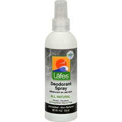 HGR0420695 - Lafe's Natural Body CareOrganic Deodorant Spray - 8 fl oz