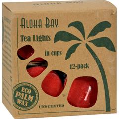 HGR0421925 - Aloha BayTea Light - Red - 12/.7 oz