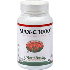 HGR0421974 - Maxi Health Kosher VitaminsMaxi Health C-1000 with Bioflavonoids - 1000 mg - 100 Tablets