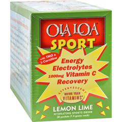 HGR0423301 - Ola Loa ProductsOla Loa Sport Lemon Lime - 30 Packets