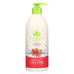 HGR0423822 - Nature's GateBody Wash Velvet Moisture Pomegranate Sunflower - 18 fl oz