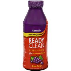 HGR0428474 - Detoxify - Ready Clean Herbal Natural Grape - 16 fl oz