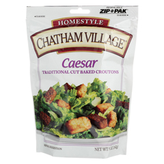 HGR0435586 - Chatham Village - Traditional Cut Croutons - Caesar - Case of 12 - 5 oz.