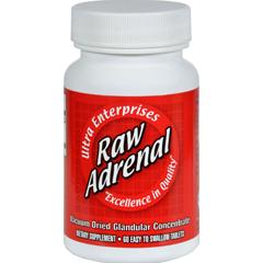 HGR0439075 - Ultra GlandularsRaw Adrenal - 200 mg - 60 Tablets