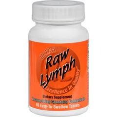 HGR0439174 - Ultra GlandularsRaw Lymph - 60 Tablets