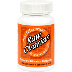 HGR0439224 - Ultra GlandularsRaw Ovarian - 200 mg - 60 Tablets