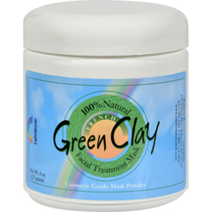 HGR0439307 - Rainbow ResearchFrench Green Clay Facial Treatment Mask - 8 oz
