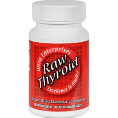 HGR0439356 - Ultra Glandulars - Raw Thyroid - 90 Tablets