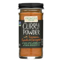 HGR0439547 - Frontier Herb - Curry Powder Seasoning Blend - 2.19 oz.