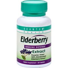 HGR0441824 - Quantum ResearchQuantum Elderberry Immune Defense Extract - 400 mg - 60 Capsules
