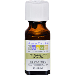 HGR0444968 - Aura Cacia - 100% Pure Essential Oil - Balsam Fir Needle - Elevating - .5 fl oz