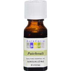 HGR0445528 - Aura CaciaPure Essential Oil Patchouli - 0.5 fl oz