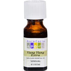 HGR0445866 - Aura CaciaPure Essential Oil Ylang Ylang Extra - 0.5 fl oz