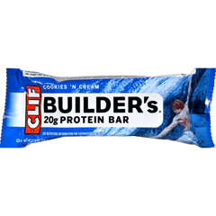 HGR0446377 - Clif BarBuilder Bar - Cookies and Cream - Case of 12 - 2.4 oz