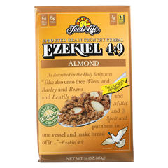 HGR0447219 - Food For Life - Cereal - Organic - Ezekiel 4-9 - Sprouted Whole Grain - Almond - 16 oz.. - case of 6