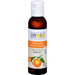 HGR0447847 - Aura CaciaAromatherapy Body Oil - Relaxation - Tangy Citrus Aroma - 4 fl oz