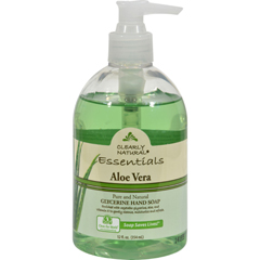 HGR0450403 - Clearly NaturalPure and Natural Glycerine Hand Soap Aloe Vera - 12 fl oz