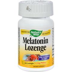 HGR0454926 - Nature's WayMelatonin Lozenge Fruit - 2.5 mg - 100 Lozenges