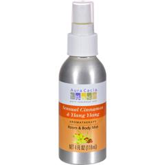 HGR0455394 - Aura CaciaAromatherapy Mist Cinnamon Ylang Ylang - 4 fl oz