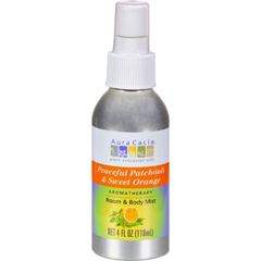 HGR0455451 - Aura CaciaAromatherapy Mist Patchouli Sweet Orange - 4 fl oz