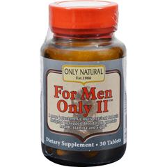 HGR0455907 - Only NaturalFor Men Only Ii - 30 Tablets