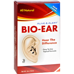HGR0456293 - Nature's AnswerAlive and Alert Bio-Ear - 0.5 fl oz