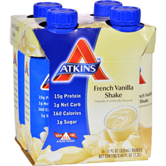 HGR0458364 - AtkinsAdvantage RTD Shake French Vanilla - 11 fl oz Each / Pack of 4