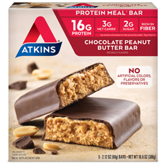 HGR0458646 - AtkinsAdvantage Bar Chocolate Peanut Butter - 5 Bars