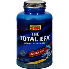 HGR0458760 - Health From The SunHealth From the Sun The Total EFA Fish Oil - 1200 mg - 90 Softgels