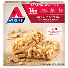 HGR0458802 - AtkinsAdvantage Bar Peanut Butter Granola - 5 Bars
