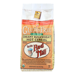 HGR0461756 - Bob's Red MillOrganic Gluten Free Creamy Buckwheat Hot Cereal - 18 oz. - Case of 4