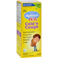 HGR0462960 - Hyland'sCold n Cough 4 Kids - 4 fl oz