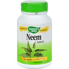 HGR0466243 - Nature's WayNeem - 475 mg - 100 Capsules