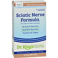 HGR0467365 - King Bio HomeopathicNatural Medicine Sciatic Free - 2 fl oz