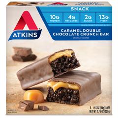 HGR0469940 - AtkinsAdvantage Bar Caramel Double Chocolate Crunch - 5 Bars