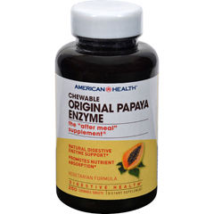HGR0472902 - American HealthOriginal Papaya Enzyme Chewable - 250 Tablets