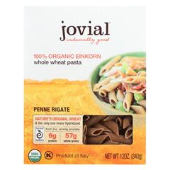 HGR0476275 - Jovial - Organic - Whole Grain Einkorn - Penne Rigate - 12 oz - case of 12