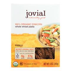 HGR0476317 - Jovial - Organic - Whole Grain Einkorn - Fusilli - 12 oz - case of 12