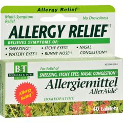 HGR0478321 - Boericke and TafelAllergiemittel AllerAide - 40 Tablets