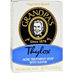 HGR0482091 - Grandpa'sThylox Acne Treatment Bar Soap with Sulfur - 3.25 oz
