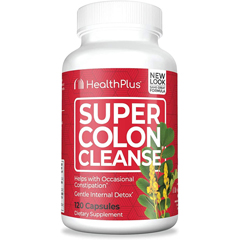 HGR0485250 - Health PlusSuper Colon Cleanse - 120 Capsules