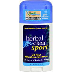 HGR0485334 - Herbal Clear24 Hour Natural Sport Deodorant - 1.8 oz