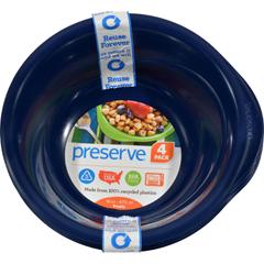 HGR0486001 - PreserveEveryday Bowls - Midnight Blue - Case of 8 - 4 Packs - 16 oz