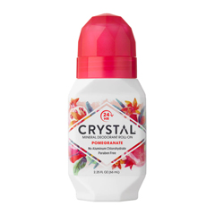 HGR0486480 - CrystalMineral Deodorant Roll-On Pomegranate - 2.25 fl oz