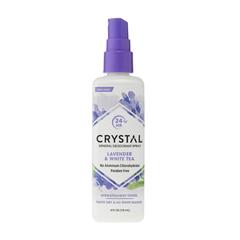HGR0486589 - CrystalMineral Deodorant Body Spray Lavender And White Tea - 4 fl oz